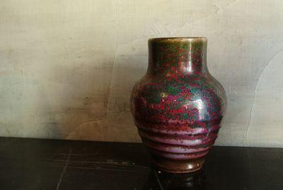 白勢栄悦の扁壷|小樽窯